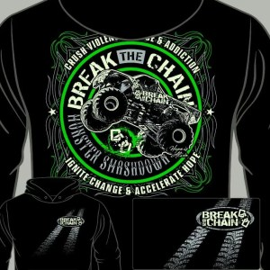 Break the Chain's Monster Smashdown Hoodie