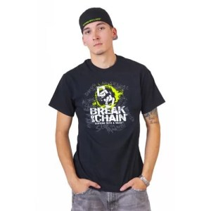 Break the Chain's Logo Black T-Shirt