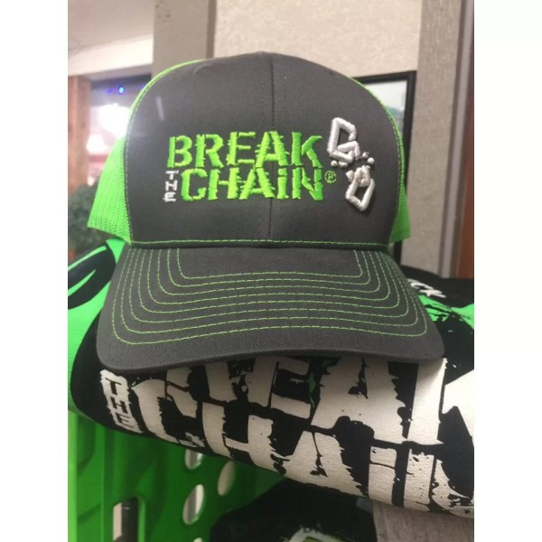 Break the Chain 3D Embroidery Hat