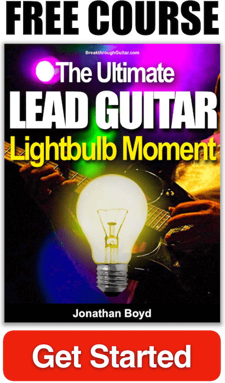 Free Guitar Lesson - Lead Guitar Lightbulb Moment