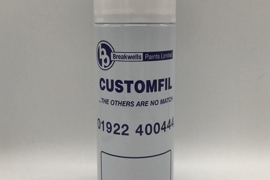 uPVC Aerosol spray can