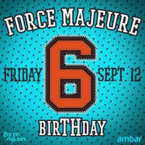 Beatslappaz - Mix for Force Majeure 6th Birthday