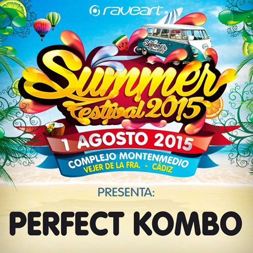 Perfect Kombo - LIVE @ Raveart Summer Festival 2015