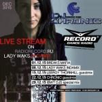 DJ Chronic – Lady Waks Guest Mix – 22.12.2015