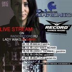 DJ Chronic – Lady Waks Guest Mix – 22.12.2015