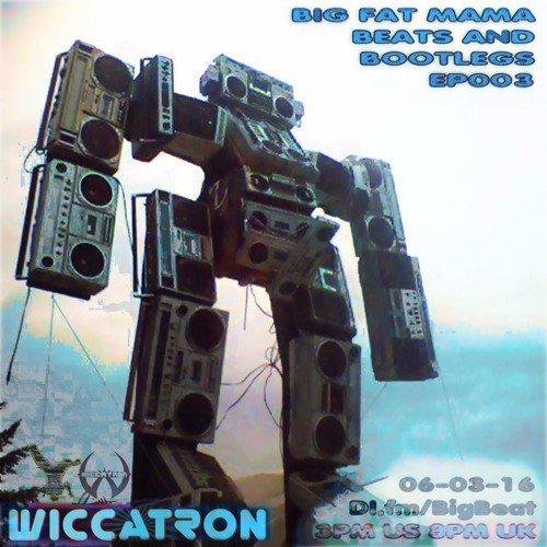 Wiccatron – Big Fat Mama Beats and Bootlegs Episode 003