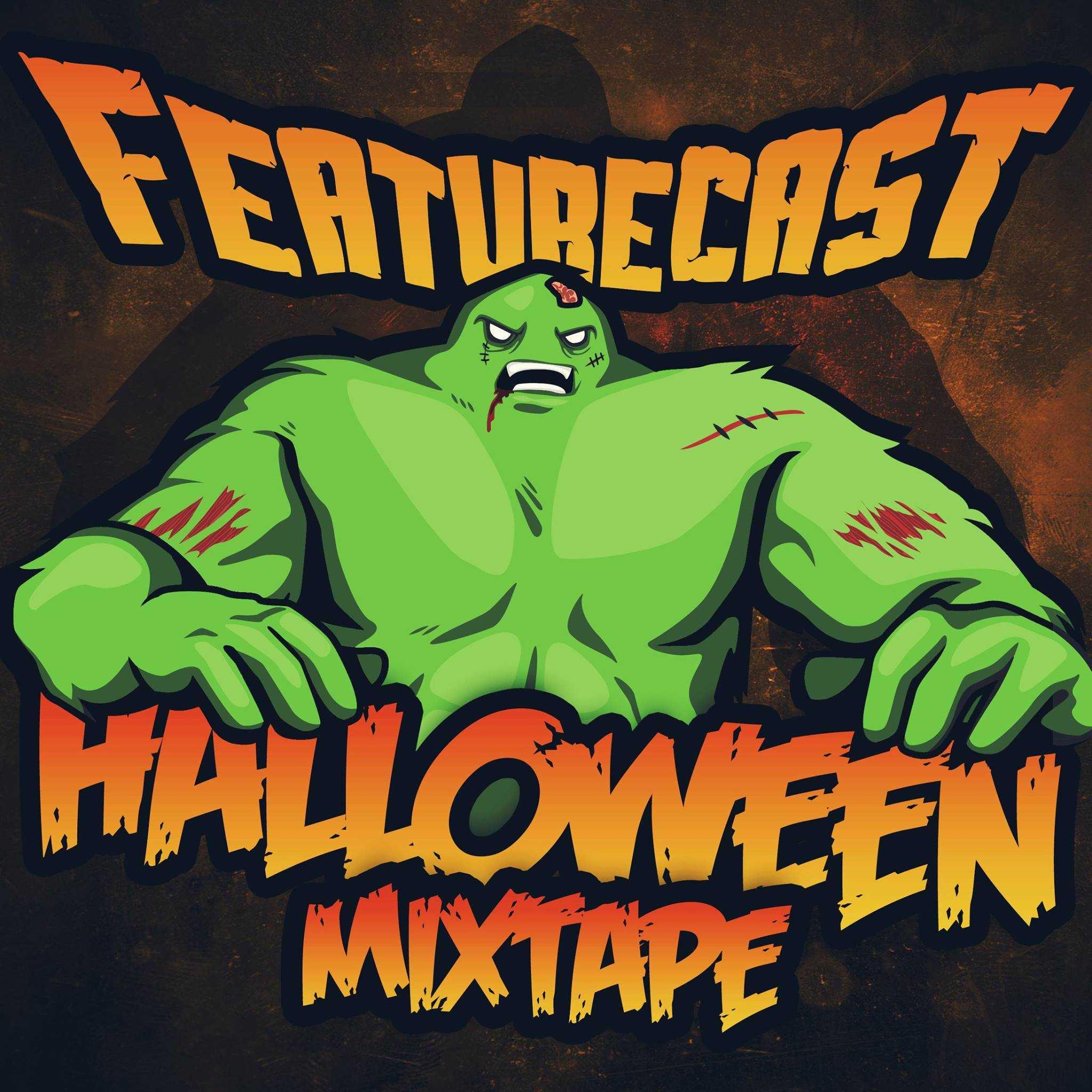 featurecast - halloween mixtape 2016 - breakzlinkz