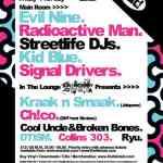 Evil Nine – LIVE @ Chew The Fat – 12.7.2008