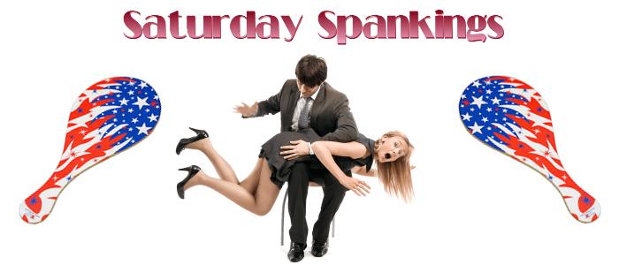 Saturday Spankings-Patriotic Paddles