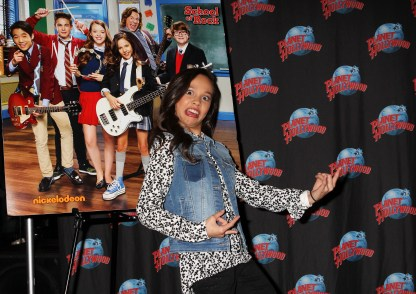 """NEW YORK, NY - MARCH 14: Breanna Yde promotes her Nickelodeon's New TV Series (based on the film)""""School of Rock"""" at Planet Hollywood Times Square on March 14, 2016 in New York City. (Photo by Bruce Glikas/Bruce Glikas/FilmMagic) *** Local Caption *** Breanna Yde"""