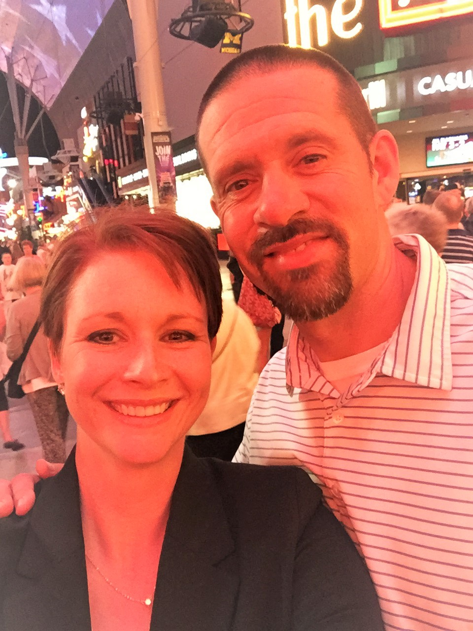 Todd and I Vegas