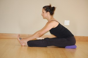 Staff Pose, Forward Bend For Breast Cancer Recovery