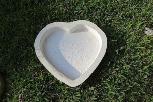 Heart Shape Mold For Stepping Stone