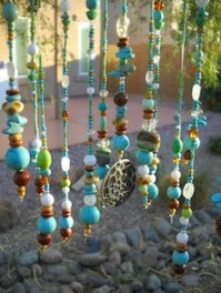 Beaded Wind Chimes For Healing Garden
