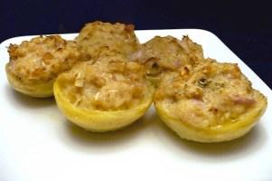 Vegan Stuffed Artichoke Bottoms