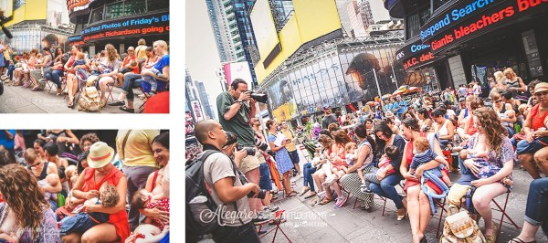 NYC Big Latch On, breastfeeding world, nyc breastfeeding world, alexia garcia, alegares photography