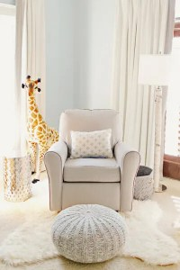 Comfy Chair in a nursing nook