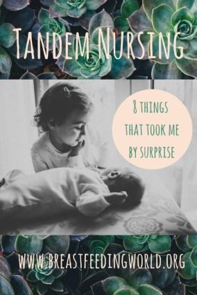 breastfeeding world tandem nursing