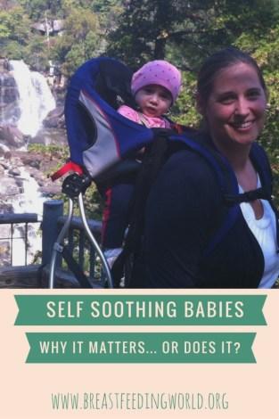 self soothing breastfeeding world