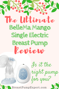 bellema mango single electric breast pump review