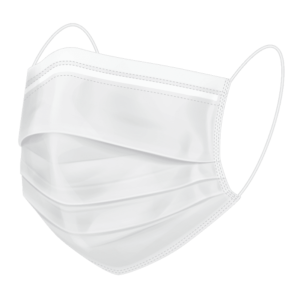 BMP America® Reusable Face Mask - White