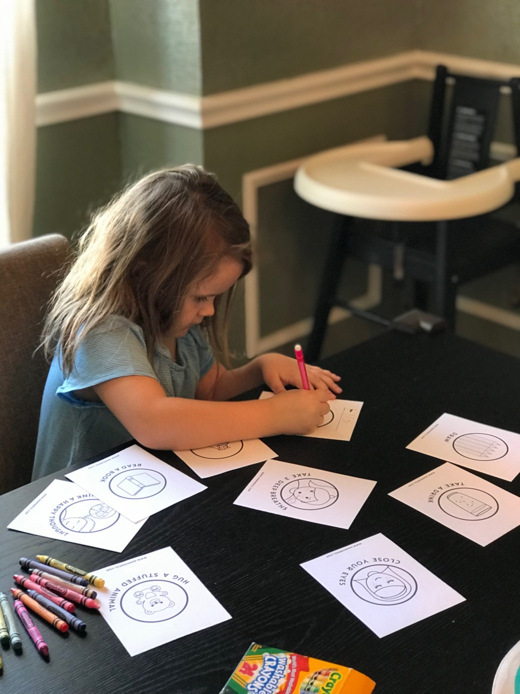 Coloring our Calming Strategy Book Cover