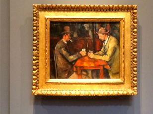 Cézanne's The Card Players