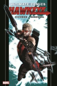 Cover of Ultimate comics' Hawkeye