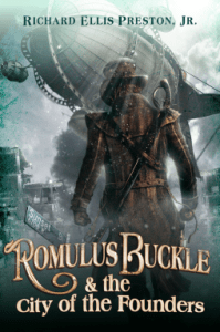 Cover of Romulus Buckle and the City of Founders