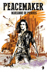 Cover of Peacemaker, Marianne de Pierres