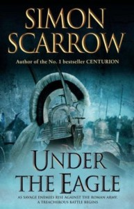 Cover of Simon Scarrow's Under the Eagle