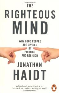 Cover of The Righteous by Jonathan Haidt