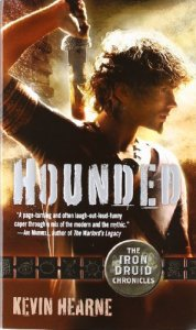 Cover of Hounded by Kevin Hearne