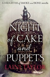 Cover of Night of Cake and Puppets by Laini Taylor