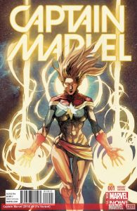 Cover of Captain Marvel issue #1