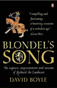 Cover of Blondel's Song by David Boyle