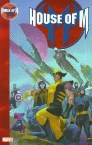 Cover of House of M by Brian Michael Bendis.