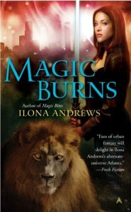 Cover of Magic Burns by Ilona Andrews
