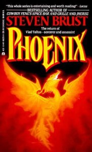 Cover of Phoenix by Steven Brust