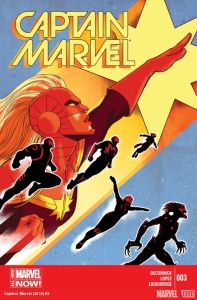 Cover of Marvel's Captain Marvel, issue three