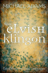 Cover of From Elvish to Klingon, by Michael Adams