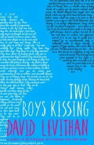 Cover of Two Boys Kissing by David Levithan
