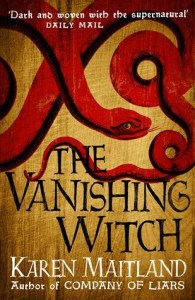 Cover of The Vanishing Witch by Karen Maitland