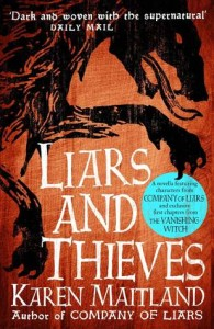 Cover of Liars and Thieves by Karen Maitland