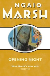 Cover of Opening Night by Ngaio Marsh