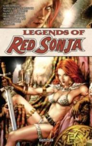 Cover of Legends of Red Sonja, by Gail Simone et al