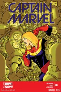 Cover of Captain Marvel #5