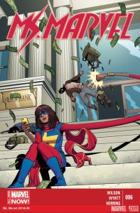 Cover of Ms Marvel #6