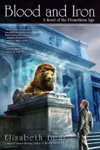 Cover of Blood and Iron by Elizabeth Bear