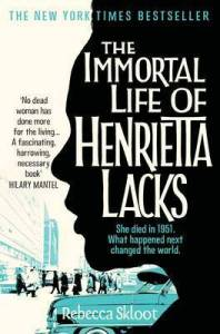 Cover of The Immortal Life of Henrietta Lacks by Rebecca Skloot